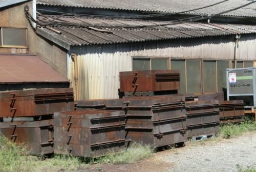 20130928 龍禅寺小学校前の鋳型工場