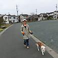 20130324 シロとubazakuraさん