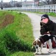 2010/02/27撮影 ハナのお散歩