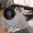 2009/3/8撮影 ハナと人間のお母さん