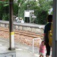 2011/07/02撮影 宮口駅の親子