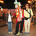 2011/10/29撮影 浜松街中のピエロ