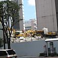 2012/08/12 松菱跡地のガレキ