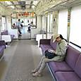20130501 遠州鉄道の電車の中にて