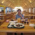 20130830 フルーツパークのスペアリブ&ビール