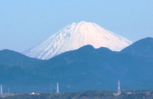 2013/01/04 新春の富士山