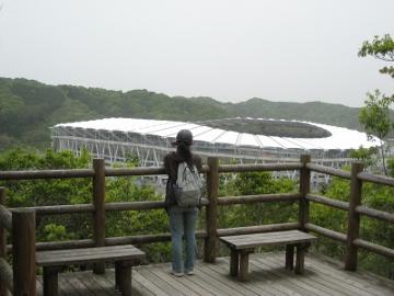 2011/05/03撮影 袋井市のエコパスタジアム