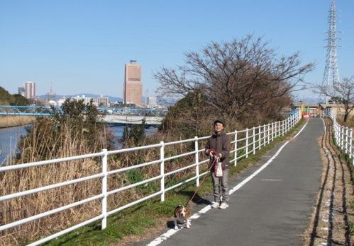 2010/01/16撮影 いつものお散歩ルート