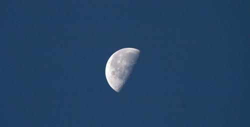 2009/10/11撮影 お月さま