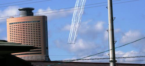 2012/11/18 アクロバット飛行練習
