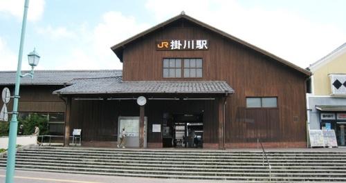 2011/07/08撮影 掛川駅舎