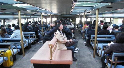 20111210撮影 水上バス 有明→日の出桟橋