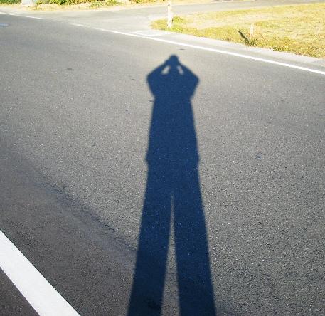 2011/12/30撮影 影法師