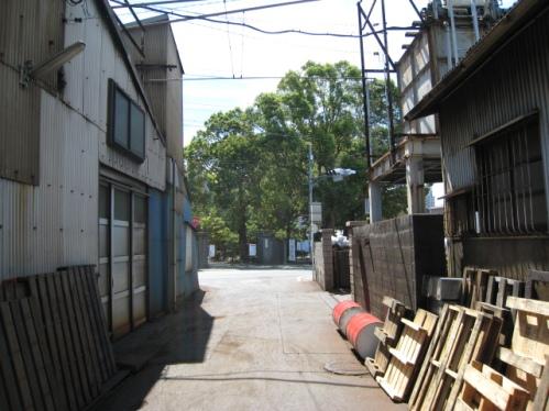 2012/09/09 龍禅寺小学校の正門