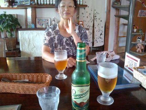 2012/09/29 ビールの「スタロプラメン」