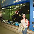 20160403_那覇空港でお魚の出迎えザンス!