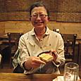 2010403_黒糖わらび餅のデザート、イケテマシタ!しかもサービスだとか!