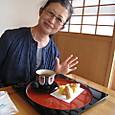 20160404_首里城で頂いたお茶とお菓子が超美味でビックラどん!